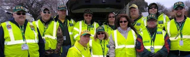 CERT Team members Group Photo