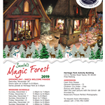 SANTA MAGIC FOREST